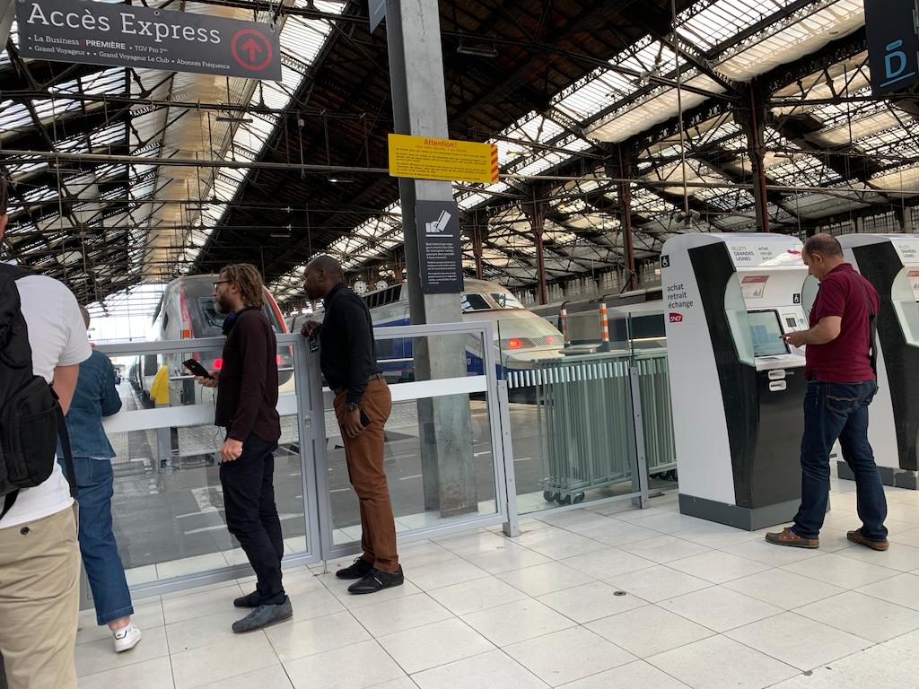Gare de Lyon Trains